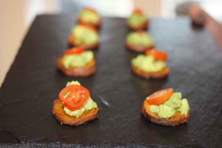 Sweet Potato & AvocadoBites