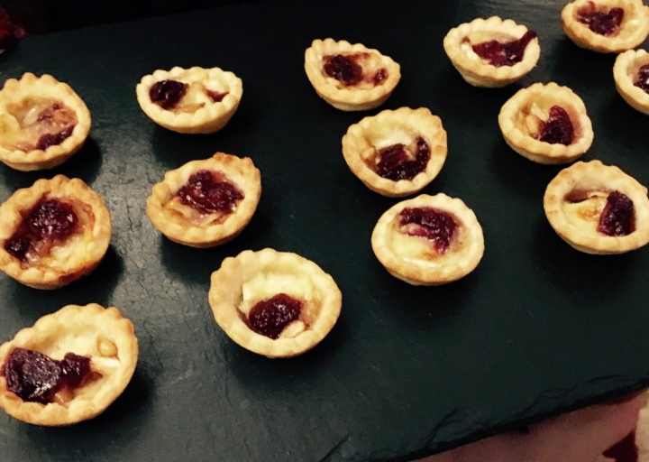 Brie & Cranberry Tartlets