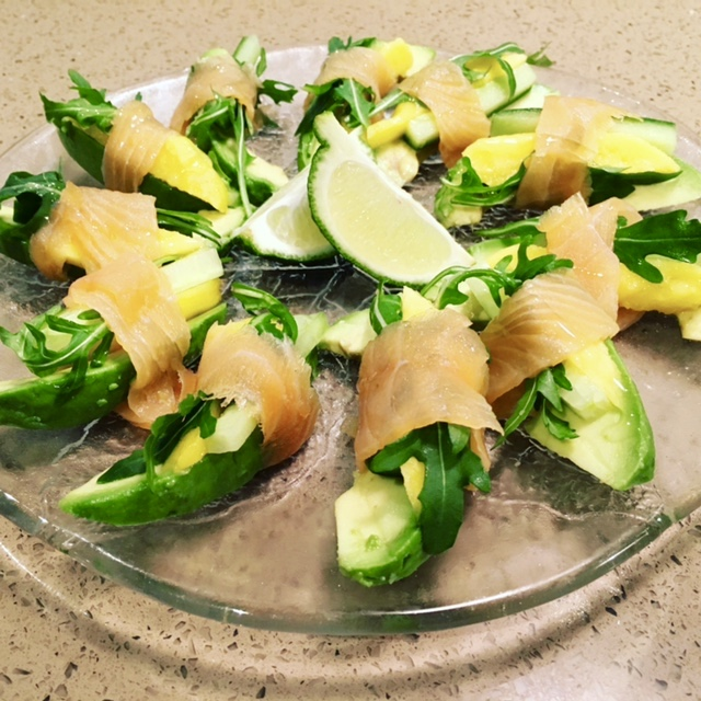 Avocado, Mango & Smoked Salmon Bundles